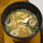 レストラン風月 - 味噌汁