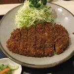 丸和 - ロースかつ定食