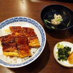 鰻 とみた - 料理写真:上うな丼 3,000円