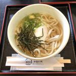道の駅若狭熊川宿 四季彩館 - 温玉ぶっかけうどん