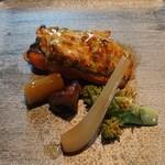 石の蔵 - 日光サーモンの葱山椒焼き
