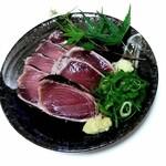 田中鮮魚店 - 頑張って盛り付け♪