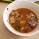 153067110 - ショルバなるイランのスープ