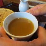 浅田 - 蕎麦湯です