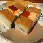 伊豫又 - 鱧寿司 1人前 1200円