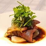 MASA'S KITCHEN - ホッキ貝と平貝の湯引き