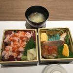 一 - 料理写真:ランチボックス(税込み1980円)