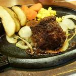 ステーキハウス ブロンコビリー - 炭焼きやわらか厚切りランチステーキ