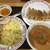 餃子の王将 - 料理写真:亀有つけ麺748円、ニンニク激増し餃子297円(2021.5.21)