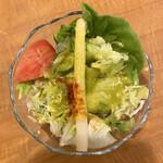 153084044 - ・サラダ+コーンスープ 650円/税込