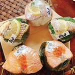 旨いもん処 のん呑 - 真鯛・鯛飯選手&サーモンイクラちゃん さいきょーカモ?