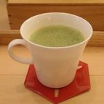 マールブランシュ カフェ - お濃茶ショコラ
