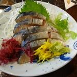 15309731 - 〆鯖。八戸の〆鯖は本当に美味しいですね~