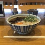 久留米荘 - 料理写真:他人うどん(肉・玉子入り)¥620