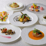 メインダイニング シーホース - ヴィーガンコース お野菜・茸類・穀類・フルーツで仕立てるコース