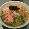 らぁめん 喜乃壺 - 料理写真:煮干蕎麦 (塩)(780円)、チャーシュー1枚追加(100円)
