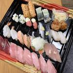 はま寿司 - 今回は私と相方と次女の3人分です!!