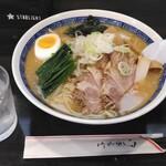 麺工房 華みずき - 料理写真:冷やし味噌ラーメン(大盛)