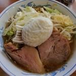 たいやき本舗 藤屋 - たい焼きラーメン(680円)