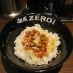 麺屋ZERO1 - 武士豚めし