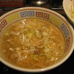 麺屋ZERO1 - ガッツ系つけ麺 つけ汁アップ