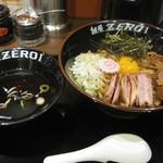 麺屋ZERO1 - 武士系あぶらそば(スープ付)