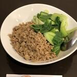 四川料理 巴蜀 - 汁なし担々麺