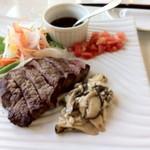 太平洋クラブ 成田コース レストラン - 牛ヒレ肉のサラダ仕立て