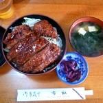 市松 - ソースかつ丼 \800