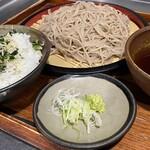 野趣家 - 蕎麦と季節のご飯セット
