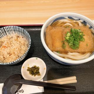 うどん ゆきの - 料理写真:きつね定食