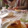 モンカフェ - 料理写真:パンケーキにはシロップをたっぷりと