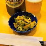 甲州屋酒場 - 2012.10 お通し(計算上は200円)