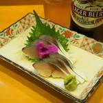 甲州屋酒場 - 2012.10 しめさば(530円)
