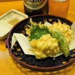 甲州屋酒場 - 2012.10 白子天ぷら(630円)