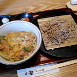 15313352 - そば定食(親子丼)