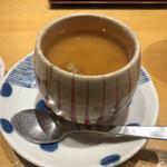 おすし家のいらぶ - 料理写真:ランチの茶碗蒸し