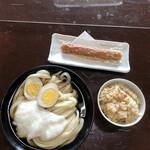 がいな製麺所 - 日替り定食 Bセット