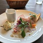 153136850 - プランツォAZ(税込み1880円)の前菜