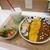 カレー&スパイス 葉と実 - 料理写真:Wカレーセット(1430円)2021年6月