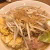 Mensamuraimomotaroumoriokaten - 料理写真:桃二郎登場!たっぷりの野菜の上にたっぷりの背脂!