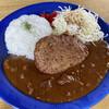 リーフ  - 料理写真:ハンバーグカレー