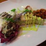 ブラッセリーベガ - 前菜盛り合わせ