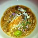 15314473 - ズワイガニと甘鯛と落花生豆腐のスープ