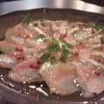15314529 - 鮮魚のカルパッチョ