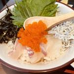 153142575 - 真鯛としらすのミニ海鮮丼