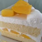 ピネード - 季節のショートケーキ マンゴー