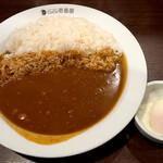 カレーハウス CoCo壱番屋 - 料理写真:ポークカレー(ライス500g)&半熟タマゴ