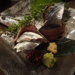 DEN's 酒店 鶴亀 - 秋刀魚刺身:680円
