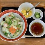 蛸八 - 中華丼 ¥750